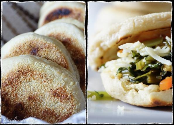 Muffins farcis aux légumes asiatiques et au cheddar 3
